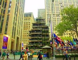 Christmas in New York~Rockefeller Center Tree Goes Up