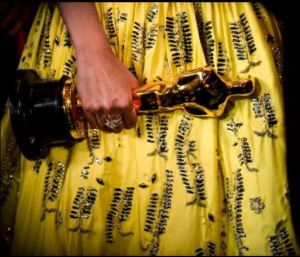Alicia's Oscar Dress