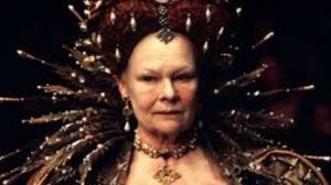 Judi Dench as Elizaberth 1