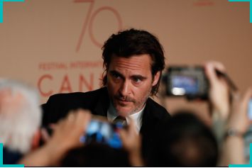 Joaquim Phoenix at Cannes