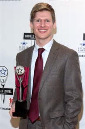 Lucas Steele Lucille Lortel Award 1