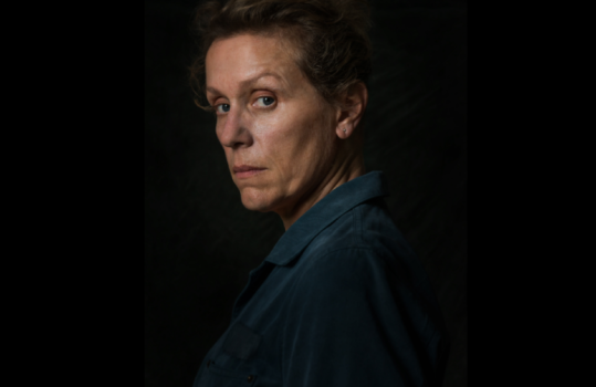 Francess McDormand Close-Up